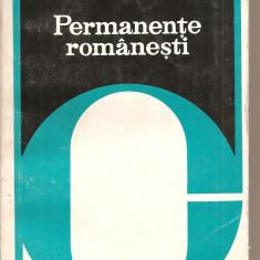 (C2243) PERMANENTE ROMANESTI DE AL. PIRU, EDITURA CARTEA ROMANEASCA, BUCURESTI, 1978 - Hobby Ghid de calatorie