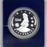 Medalie Imparateasa SiSi, Viena, Austria - in capsula UNC, metal comun (posibil suflat Ag), Europa