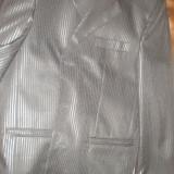Costum barbati marime 46, 4 nasturi, Marime sacou: 46, Normal
