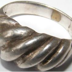 Inel argint - Inel vechi din argint (17) - de colectie