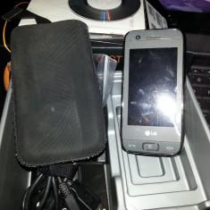 Telefon LG, Gri, Touchscreen, Wi-Fi, GPS, Bluetooth - Vand Lg GT505