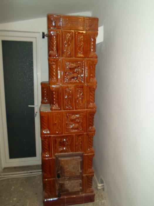 Soba de teracota cu serpentina foto mare