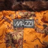 Blanuri luxoase, 3 la nr made in Italia, marca Mazzi...din nurca 100% naturala..., Maro, Piele
