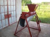 DESFACATOR DE  PORUMB foto