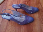 Pantofi dama lila (Matheo Stil) 100% piele foto