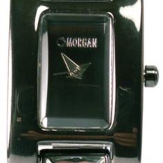 Ceas dama - Ceas Morgan M1027U Rectangular Black Prism Face