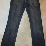 Blugi dama de la Zara, din bumbac, marimea S (34), usor folositi, Culoare: Negru, Evazati, Lungi, Normal, Normala