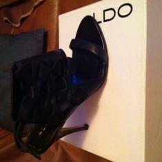 Sandale dama Aldo, Marime: 39, Culoare: Negru, Negru