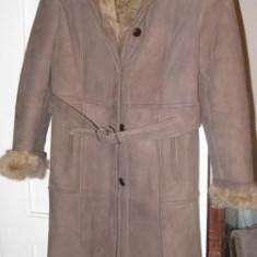 Palton dama, Piele - Cojoc dama