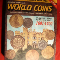 Catalog World Coins 1601- 1700 - Prima Editie - piesa colectie