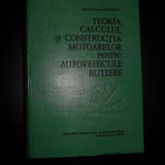 Teoria, calculul si constructia motoarelor pentru autovehicule rutiere-Berthold Grunwald - Carti auto