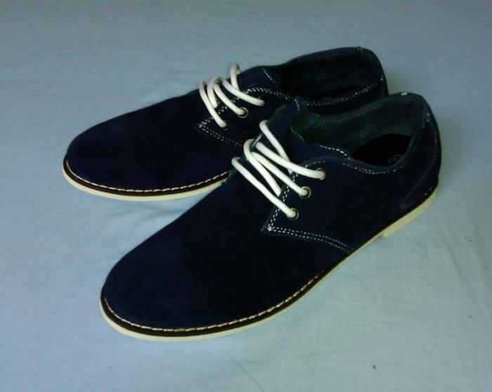 Pantofi barbatesti piele intoarsa foto mare