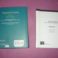 Carte afaceri - Prentice Hall - Personal Finance - fara coperta - reducere 65% - 2+1 gratis toate licitatiile - RBK580