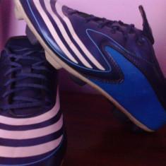 Crampoane Adidas F5 ( culoarea albastru) - Ghete fotbal Adidas, 37 1/3, Copii