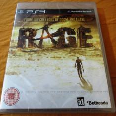 Joc Rage, PS3, original si sigilat, alte sute de jocuri! - Jocuri PS3 Bethesda Softworks, Shooting, 16+, Single player