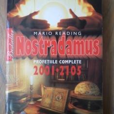 Carte hobby - Mario Reading - Nostradamus - profetiile complete 2001-2105