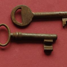 2 chei vechi de colectie pentru usa !!! - Metal/Fonta