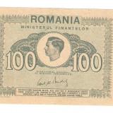 ROMANIA 100 LEI / 1945. aUNC