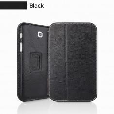 Husa Executive Case Piele Naturala Samsung Galaxy Tab3 P3200 by Yoobao Originala Black - Husa Tableta