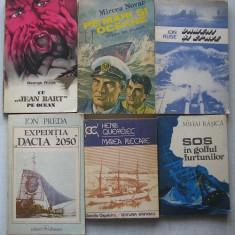 Carti despre Expeditii Maritime, Nave, Vapoare - 6 titluri - Roman