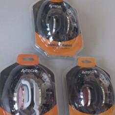 A4TECH CASTI T-120-1 BLACK - Casti PC A4tech, Casti cu microfon, Analog