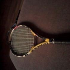 Rachete tenis camp Babolat fibra carbon - Racheta tenis de camp Babolat, Performanta, Adulti, Aluminiu/Carbon