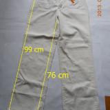 Pantaloni dama, Alb - Pantaloni catifea, albi