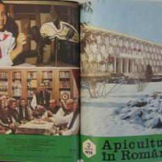 Revista APICULTURA IN ROMANIA, colectie completa pe anul 1979 (stuparit, albinelor, stuparului, albinarit) 10 lei /revista
