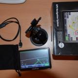GPS Smailo, 5 inch, Toata Europa, Comanda vocala, Harta online, Redare audio - Smailo HD 5.0 Harta Europa