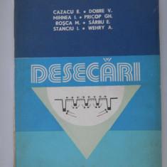 DESECARI - Cazacu E. - Carti Agronomie