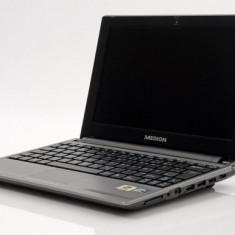 Laptop HDMI USB3 Intel 4 nuclee 2Gb DDR3 Display 25.5cm Baterie 6 ore 500Gb HDD NOU import Germania - Laptop Medion, Intel Atom, 1501- 2000Mhz, Sub 15 inch