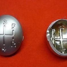 Nuca schimbator - Capac ornament schimbator 5+1 viteze cromat Renault Master
