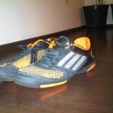 Ghete fotbal Adidas, 41 1/3, Orange, Barbati