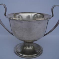 Mega - reducere! CUPA / ZAHARNITA / BOMBONIERA G.A.B. argintata, Vas