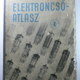 CARTE RARA - LAMPI RADIO - CATALOG DE TUBURI ELECTONICE - FABRICATE PINA IN ANUL 1956 - ELEKTRONCSO - ATLAS - MAGHYARI BELA - 1957 - LIMBA MAGHIARA