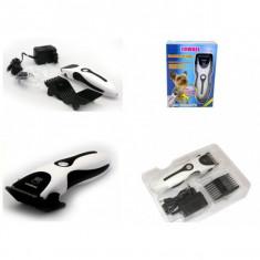 Masina de tuns caini si pisici marca Zowael cu acumulator, reincarcabila