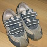 Adidasi piele nr 28 - Adidasi copii, Culoare: Albastru, Baieti