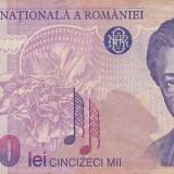 Romania 50000 50.000 lei 1996