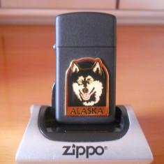 Zippo Alaska-slim-REDUCERE - Bricheta Zippo, De buzunar