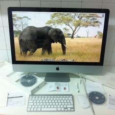 DESKTOP PC APPLE A1312 MAC OS X . 16 Gb . RAM si 1 TB hard disk - Sisteme desktop cu monitor, Intel Core 2 Duo, Peste 8 GB, 1-1.9 TB, 27 inch