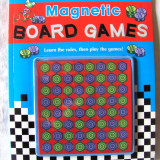 "Jocuri Board games - ""MAGNETIC BOARD GAMES"", Kath Smith, 2008. Carte - joc. Absolut noua"