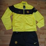 Trening barbati Nike, XL, Galben - Trening Nike Manchester United ORIGINAL - import Marea Britanie -