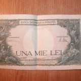 BANCNOTE UNA MIE LEI ANUL 1945