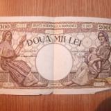 BANCNOTA DE DOUA MII LEI ANUL 1944