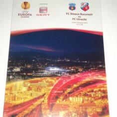 Program meci fotbal Steaua Bucuresti - FC Utrecht 04.11.2010