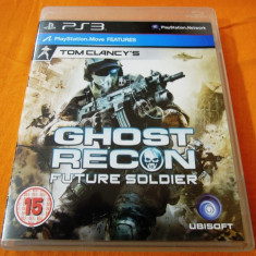 Joc Tom Clancy's Ghost Recon Future Soldier, PS3, original, alte sute de jocuri! - Jocuri PS3 Ubisoft, Shooting, 16+, Single player