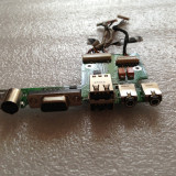 833. Modul Sunet/VGA/USB HP Pavilion DV4000 DV4290EA 48.49Q02.021 384625-001