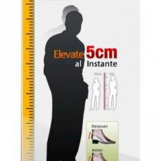 Inaltator de Pantofi din Silicon mai inalt cu 5 cm - Pantof dama, Marime: 35, Culoare: Alb