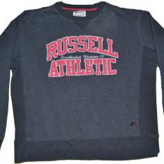 Bluza barbati, XL, Bumbac - Bluza din bumbac flausat firma RUSSELL ATHLETIC marimea XL european sau L- Uk