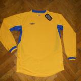 Tricou fotbal Umbro galben albastru, Tricouri